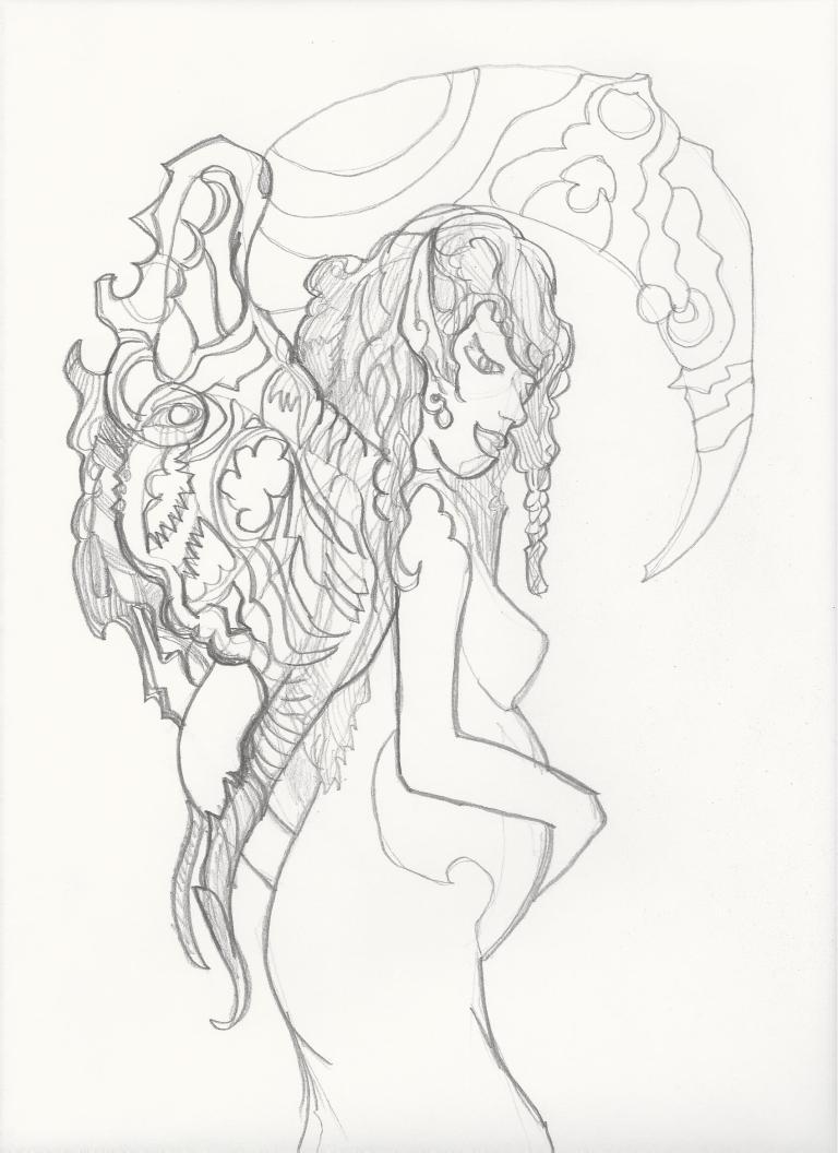 pregnant-faery